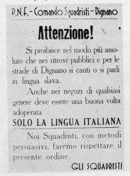 05inchiesta-foibe-Proclama-degli-squadristi-di-Dignano-vicino-a-Pola-190x256 - Copia