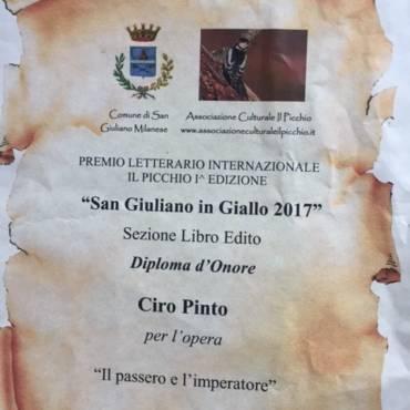 Il passero e l'Imperatore finalista a San Giuliano