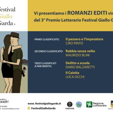Il passero e l'Imperatore vince il Premio Festival Giallo Garda, III Edizione 2017.
