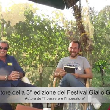 Video dell'intervista alla quarta edizione Festival Giallo Garda 2018