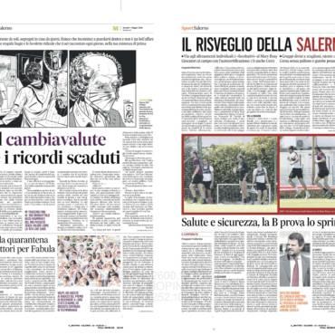 Il cambiavalute sul Mattino di Salerno